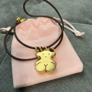 Authentic TOUS Gold Bear Pendant